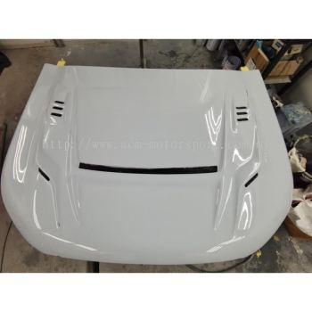 Isuzu Dmax carbon fiber bonet hood