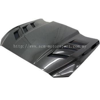 Ford mustang ams carbon fiber bonet hood