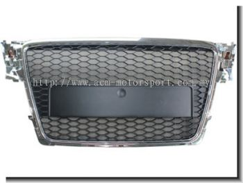 Audi A4 B8 RS Front Grill Chrome / Black