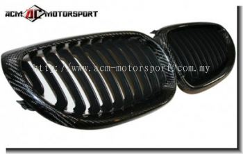 BMW E60 Carbon Kidney Grill