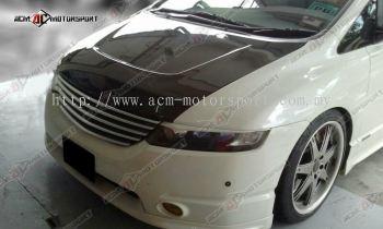 Honda Odyssey Carbon Fiber Hood V2