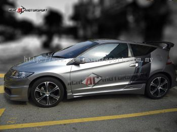 Honda CRZ Side Fender Bodykit