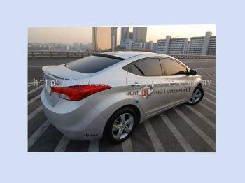 Hyundai Elantra MD Roof Glass Spoiler