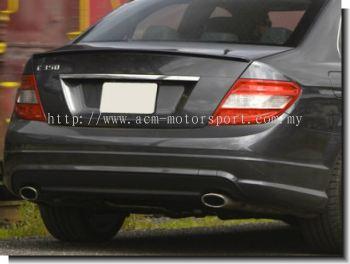 Mercedes Benz C-class W204 Rear Bumper