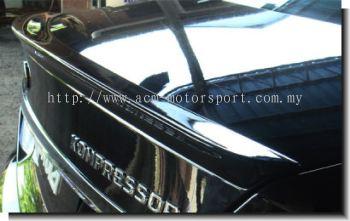 Mercedes Benz C-class W-204 Type B Spoiler