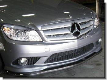 Mercedes Benz W204 Front Diffuser