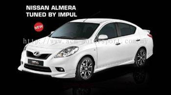 Nissan Almera Impul Bodykit