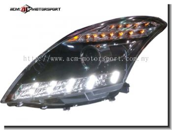 Suzuki Swift 2013 Head Light Conversion