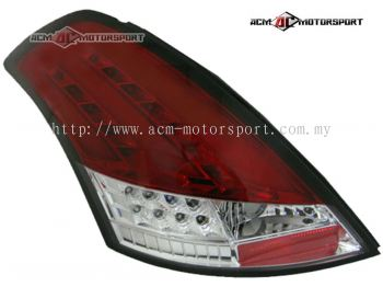 Suzuki Swift 2013 Rear Lamp Conversion