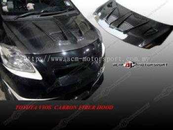 Toyota Vios Carbon Fiber Hood