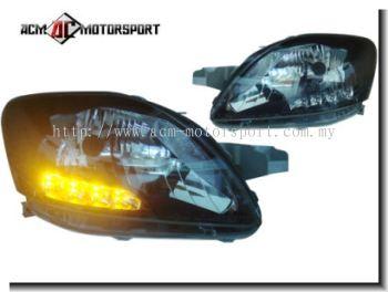Toyota Vios 2007-2013 Head Lamp Conversion