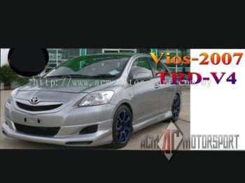 Toyota Vios TRD V4 Bodykit