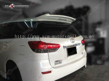 Toyota Wish 2009 Spoiler