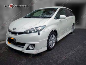 Toyota Wish Admiration Bodykit