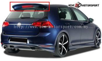 Volkswagen Golf Tsi Mark7 RDX Spoiler