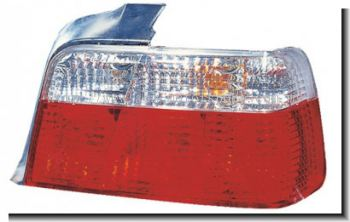 BMW 3 series E36 rear tail light crystal clear