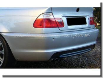 BMW E46 M-Tek Rear bumper (2 or 4 Door)