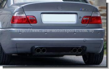 BMW E46 CLS rear spoiler (2 Door)