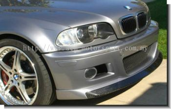 BMW E46 M3 CH style front lips