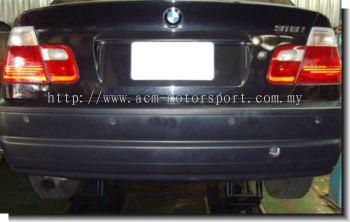 BMW E46 M3 rear bumper ( for single exhaust )