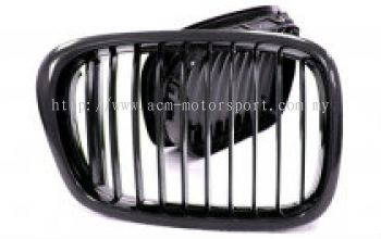 BMW E39 front grill black