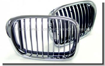 BMW E39 front grill chrome