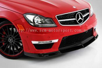 Mercedes Benz C class W204 AMG VRS front lips