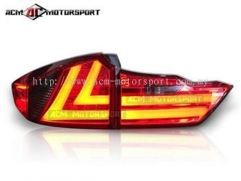 Honda City 2014 VD tail light red