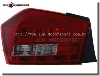 Honda City 2009>2013 URS tail light Red