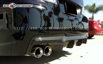 BMW F10 m-sport VRS rear diffuser