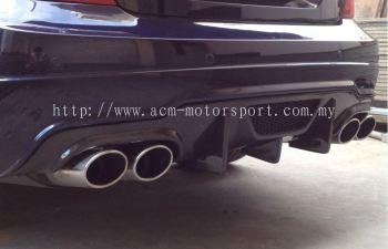 Mercedes Benz C class w204 VRS rear diffuser
