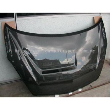 Toyota wish 06 carbon fiber hood