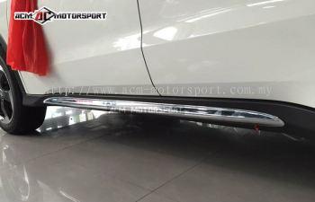 Honda HRV Lower side chrome