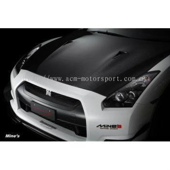 Nissan GTR35 OEM carbon fiber hood