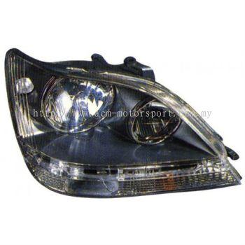 Toyota harrier type A head lamp