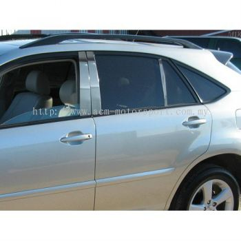 Toyota Harrier Chrome Pillar