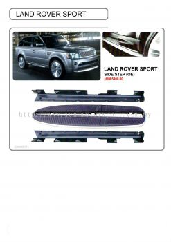 Land Rover sport side step
