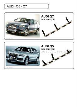Audi Q5 side step