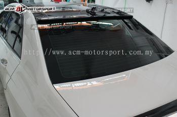 Mercedes Benz W212 Glass spoiler