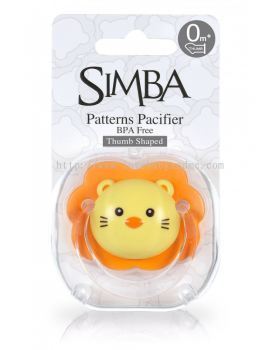 SIMBA THUMB SHAPE PACIFIER 0M+