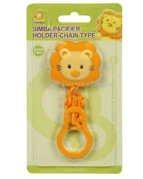 SIMBA Style Pacifier Chain (Yellow/Orange)