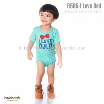 Holabebe I love Dad romper