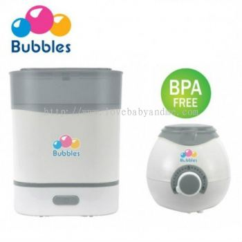 BUBBLES COMBO STERILIZER + WARMER
