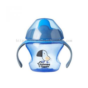 TOMMEE TIPPEE FIRST TRAINER CUP/SIPPEE CUP 150ML (4MTH) BLUE