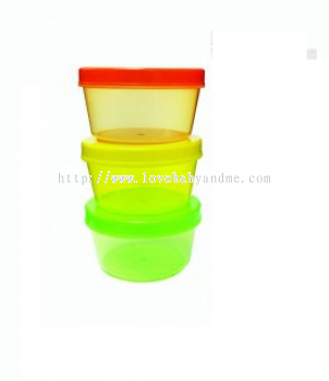 TREENIE 3 STACK & SNACK STORAGE CONTAINER 3'S