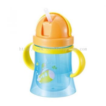 KIDSME NON SPILL TRAINING CUP W/HANDLE (9834)