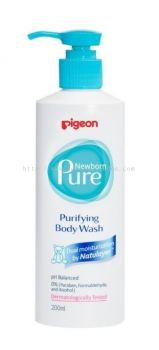 PIGEON NEWBORN PURE PURIFYING BODY WASH 200ML