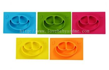 Pufeite silicone plate for children 1pcs