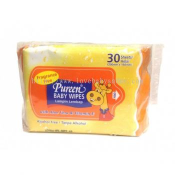 PUREEN BABY WIPES (FRAGRANCE FREE)
