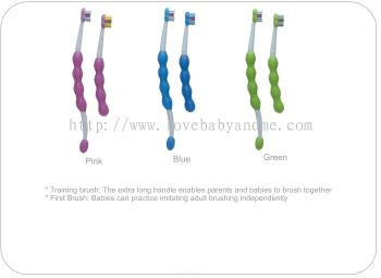 MAM LEARN TO BRUSH SET 6MTHS (D253)